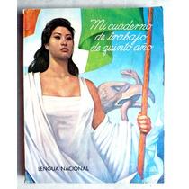Libro Mi Cuaderno De Trabajo 5o. Año Lengua Nacional