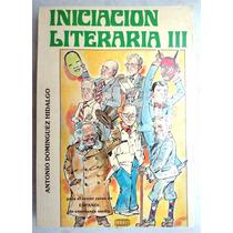 Libro De Secundaria 3o. Español Iniciación Literaria