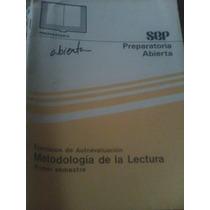 Ejercicios De Autoevaluacion Metodologia De La Lectura
