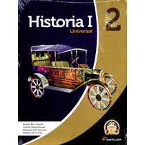 Historia Universal 1 P/2do Todos Junto Oro - Rico Galindo /