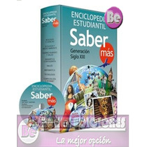 Enciclopedia Estudiantil Saber Mas 1 Vol + Cd Clasa