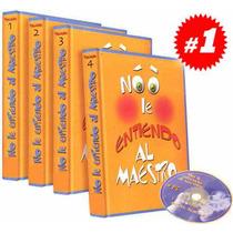 No Le Entiendo Al Maestro 4 Vols + 1 Cd