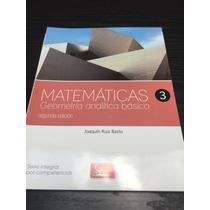 Matemáticas 3 Geometría Analítica Básica