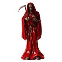 Santa Muerte / Figura De Resina Para Rituales Y Oraciones