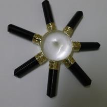Generador De Energía De Turmalina Y Cuarzo Blanco