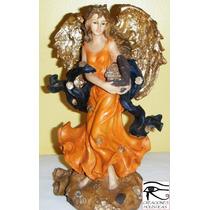 Angel Abundia / Figura De Resina