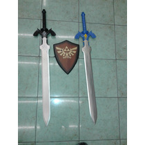 Master Sword Espada De Link The Legend Of Zelda Azul O Negra