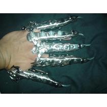 Garras Metalicas Ajustables Goticas Con Diseños Exclusivos