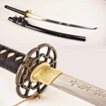 Katana Ultimo Samurai Deluxe 100% Funcional Y Fiel Maz-021