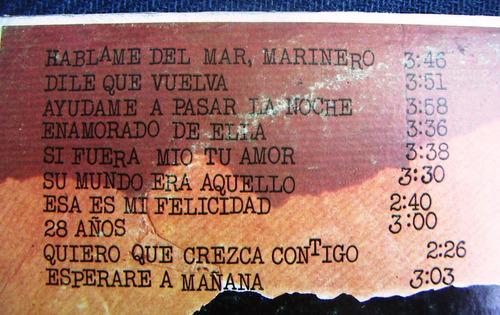Marisol - Háblame Del Mar Marinero