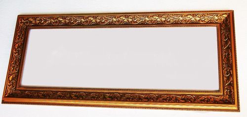 Espejo Rustico Rococo Cuerpo Completo O Decorativo 127 X