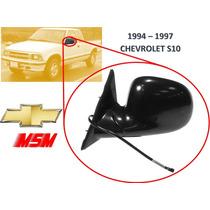 94-97 Chevrolet S10 Espejo Lateral Electrico Izquierdo Msm