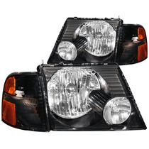 Ford Explorer 02-05 H.l Black With C.l Amber