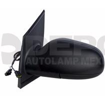 Espejo Volkswagen Crossfox 2007-2010 Izq Elec C/desem Negro