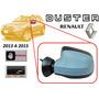 13-15 Renault Duster Espejo Lateral Manual Liso Izquierdo