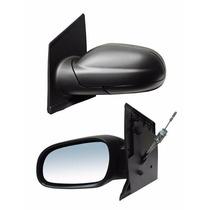 Espejo Lateral Lupo Manual Negro