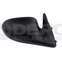 Espejo Nissan Sentra 1996 97 98 99 2000 Derecho Manual Negro