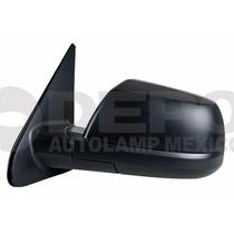 Espejo Toyota Tundra 2007-2012 Izq Electrico Corrugado Negro