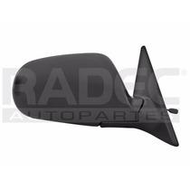 Espejo Honda Accord 1990-1991-1992-1993 C/control Negro Der