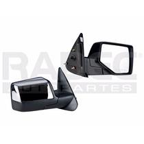 Espejo Ford Ranger 2010-2011-2012 Manual Cromado Der