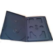 Caja Con 50 Estuches De Dvd Para 6 Discos 14mm Vv4