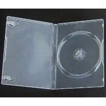 50 Estuches Sencillos Transparentes Dvd Gruesos Cujas
