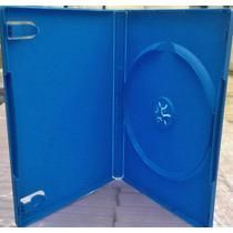 Estuches Para Dvd 14 Mm Color Azul Paquete 25 Pzas