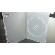 Estuches Para Dvd 14 Mm Transparente Opaco Con 100 Estuches