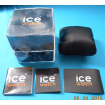 Estuche Original P/ Reloj Ice Watch Fotos Reales Regular