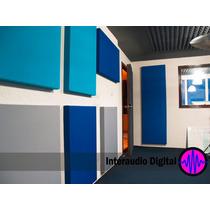 Panel Acustico Espuma Acustica Control Sonido Ruido 1.2m