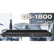 Nueva Tascam Us-1800 Tarjeta De Audio 16 Canales Latencia 0