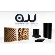 Panel Acústico Audiowave, Rib Paquete Tratamiento Acústico