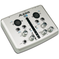 Alesis Io2 Express Interface De Audio Profesional De 24 Bits