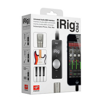 Irig Pro Interface Audio Midi 24 Bits Para Iphone Ipod, Ipad