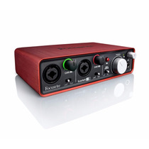Interface Focusrite Scarlett 2i2, Maxima Calidad De Estudio