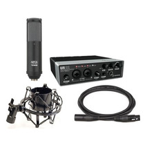 Yamaha Steinberg Ur22 Recording Pack Paquete Completo Cubase