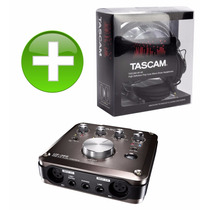 Tascam Us366 Regalo Audifono Tascam Hp A9 Us 2x2 Alesis Io4