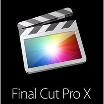 Final Cut Pro X Para Mac El Capitan $419 Oem
