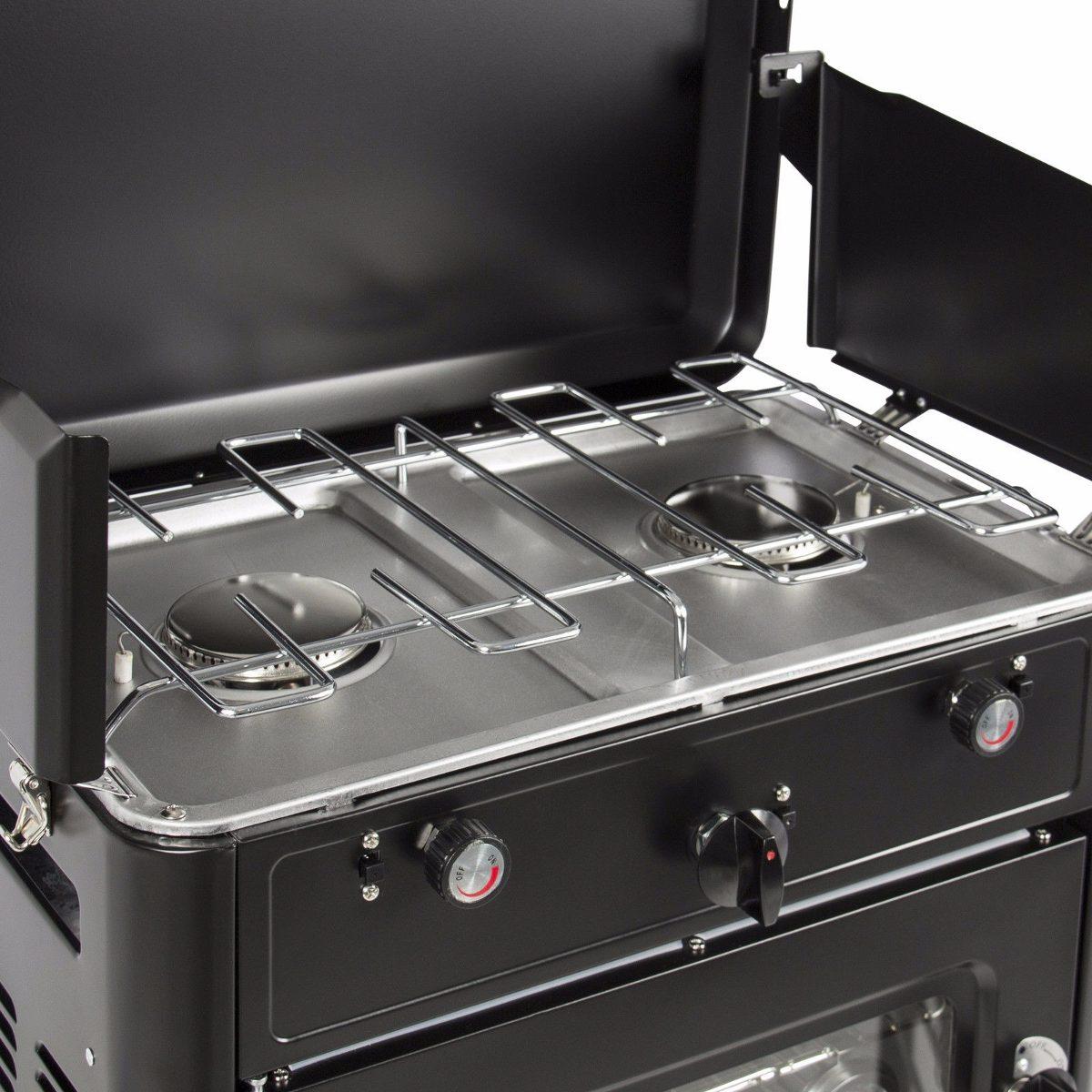 Estufa portatil campamento aire libre cocina gas propano for Cocina de gas portatil