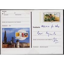 0653 Postal Caballo No Circulada Alemania Primer D 60 1988