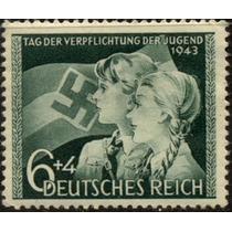 0677 Alemania 2° G M Semi Postal 6+4 Mint L H 1943