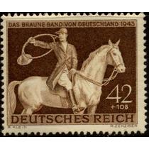 0675 Alemania 2° G M Semi Postal 42+108 Mint L H 1943