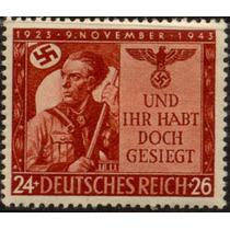 0678 Alemania 2° G M Semi Postal 24+26 Mint L H 1943