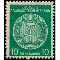 0987 Alemania D D R 2° E 10 M Mint N H 1954-56