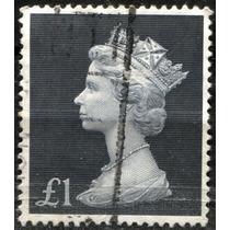 1498 Inglaterra Scott#mh279 Reina Victoria 1 L Usado 1992-04