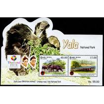 1043 Oso Ne Sri Lanka Yala Hoja Recuerdo 2 P Mint N H 2013