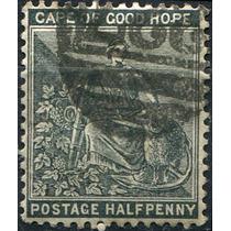 1120 Cabo De Buena Esperanza Comercio 0.5p Usado 1871-81