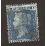 Primera Estampilla Del Mundo Two Pence Blue Siglo X I X Vbf