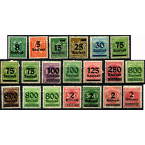 1806 Alemania Scott #241 Numeral 20 Sellos Mint L H 1923