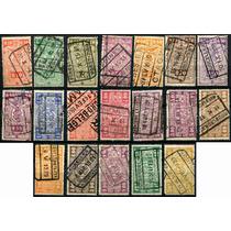 1829 Bélgica Scott #q140 Numeral Simbolo 19 S Usados 1923-40